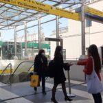 Amuchina sale a bordo dei treni regionali di Trenitalia